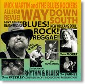 Mick Martin and The Blues Rockers - Way Down South