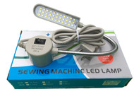Magnetic Mounting Base Working Gooseneck Lamp 33-LED Light 110V for Home or Sewing Machine