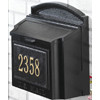 Whitehall Wall Mount Mailbox with Plaque
