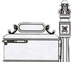 IMPERIAL MAILBOX SYSTEM #110R - Ring Door
