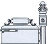 IMPERIAL MAILBOX SYSTEM #291-210R - Ring Door