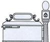 Imperial Mailbox System #298-310R - Ring Door