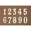 2-Inch Brass Numbers