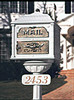 Classic Collection Mailbox Post Address Number Plaque