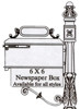 Imperial Mailbox Newspaper Holder