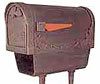 SPECIAL LITE ALUMINUM MAILBOX NEWSPAPER HOLDER