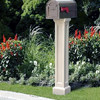 Bradford Mailbox Post - Color