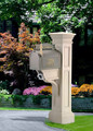 Liberty Mailbox Post - Color