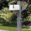 Westbrook Plus Mailbox Post - Color
