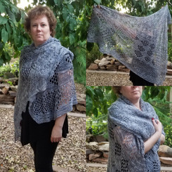 Gigantica Sampler Shawl - PATTERN Only