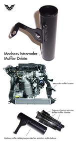Madness MINI Cooper S Intercooler Muffler Delete Pipe