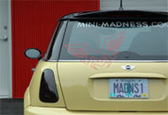 Madness Logo Graphics, Rear Window Sticker