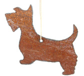 Rusty Scottie Ornament