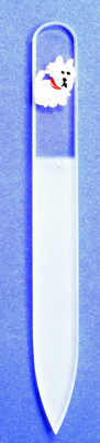 Westie Glass Nail File