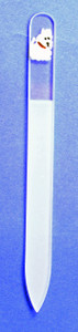 Westie Glass Nail File