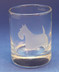Scottie Votive or Shot Glass