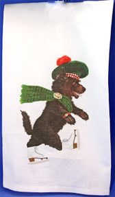 Scottie Hand Towel
