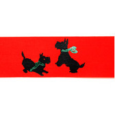 Red Scottie Ribbon