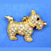 Textured Scottie Pin