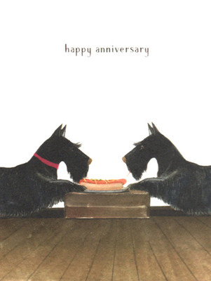 Scottie Anniversary Card