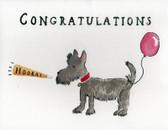 Scottie Congratulations Card