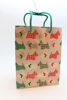 Large Scottie Gift Bag