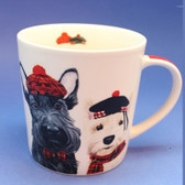 Angus Scottie and Fiona Westie Mug