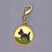 John Wind Scottie Charm
