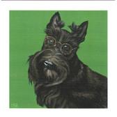 Hairy Potter Scottie Card