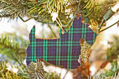 Black Watch Scottie Ornament
