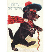 Whisky Galore Scottie Birthday Card