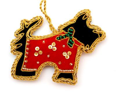 2019 Scottie Fair Trade Ornament