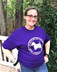 Scottie Purple T- shirt