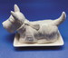 Scottie Ceramic Butter Dish