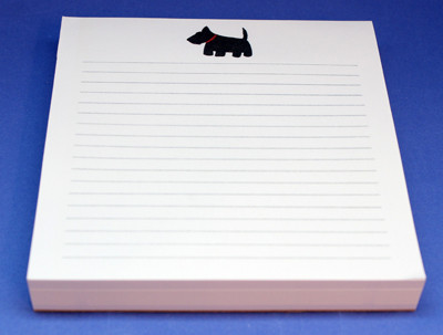 Scottie Desk Pad