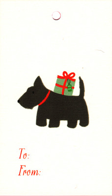 Scottie Gift Tags