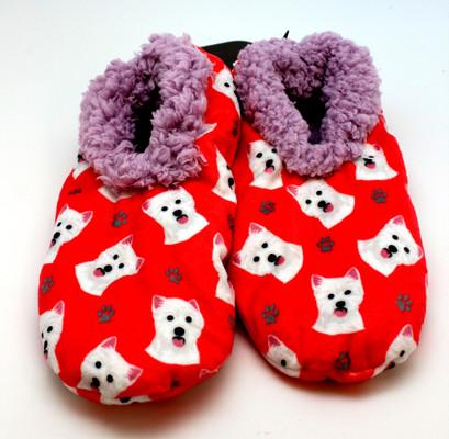 Westie Slippers