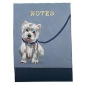 Westie Note Pad