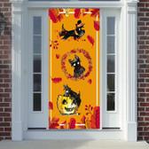 Scottie Fall Door Cover