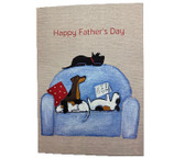 Scottie Father's Day Card