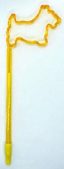 Gold Scottie Shaped Pen
