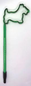 Green Scottie Shaped Pen