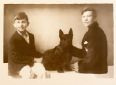 2 Brothers and their Scottie Card
