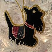 Celtic Scottie Ornament