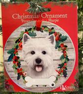 Westie Face Ornament