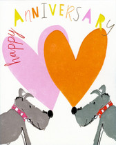 """Happy Anniversary"" Scottie Card"