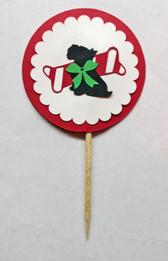 Christmas Scottie Cupcake Pick