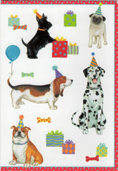 Caspari Scottie Birthday Card
