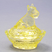 "Boyd Glass ""Yellow Glo"" Salt"