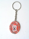 Westie Key Chain